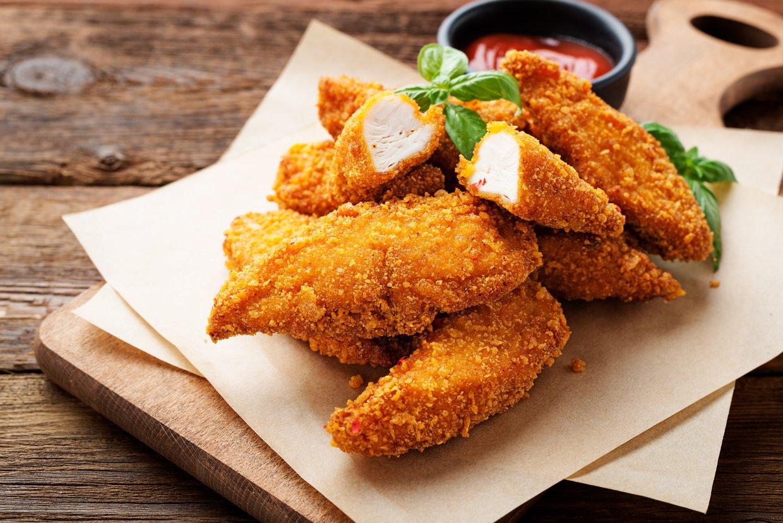 速食店多使用白肉雞