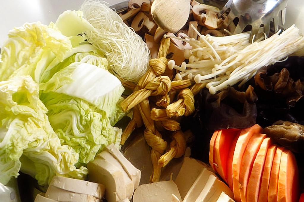 ▲ 蔬菜會有本身食材的鮮甜,超適合當作火鍋的湯底。