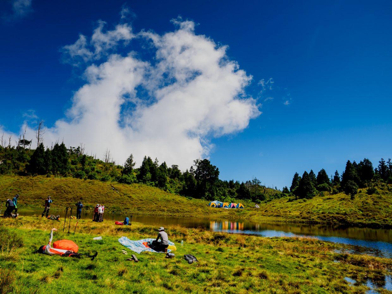 看到名不虛傳的加羅湖,可以開始準備今晚的住宿地點了。(