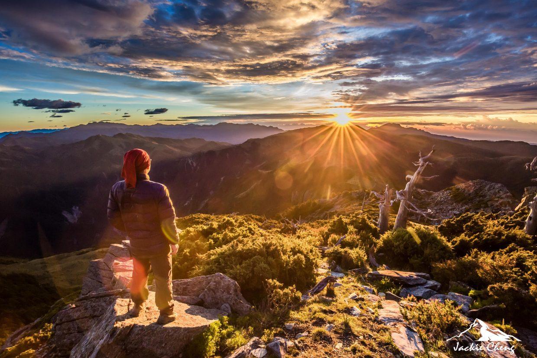 台灣百岳排名第16名,高度約3600公尺的向陽山