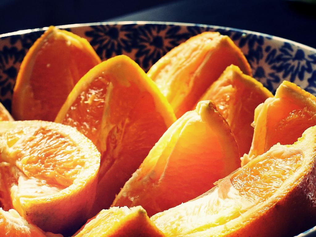 柑橘類切片