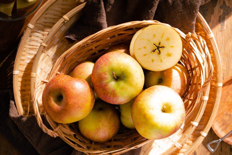 ▲ 11月蜜蘋果最甜美,也很適合拿來做甜點。(圖/奧丁丁市集)