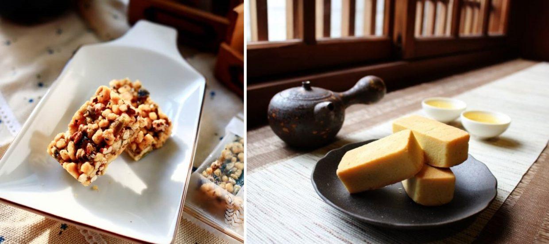▲ 除了傳統過點糕點外,獨特口味的零食也是不錯的選擇。