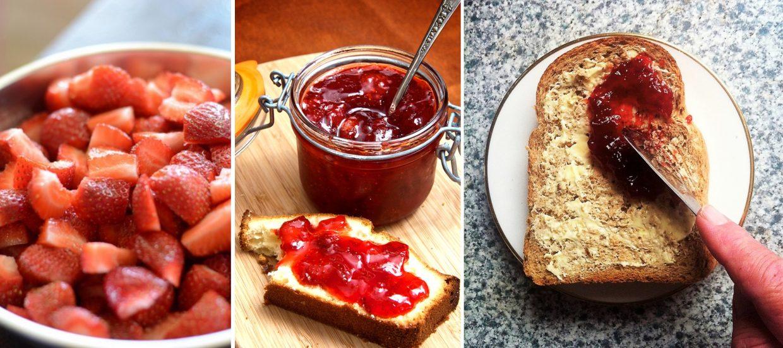 ▲ 草莓果醬有各種吃法,可依照個人喜好熬煮成自己喜歡的口感。
