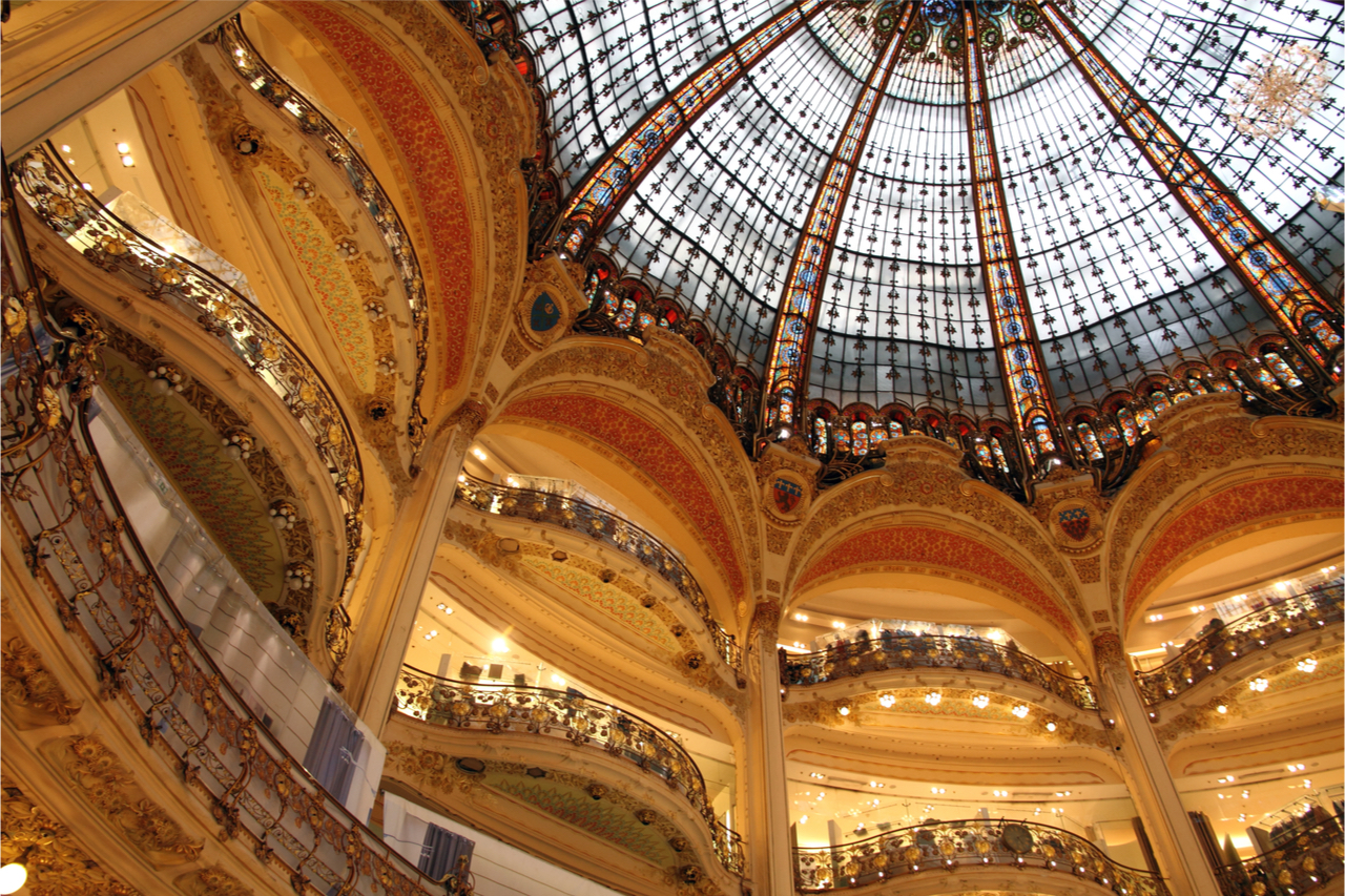 法國拉法葉百貨。