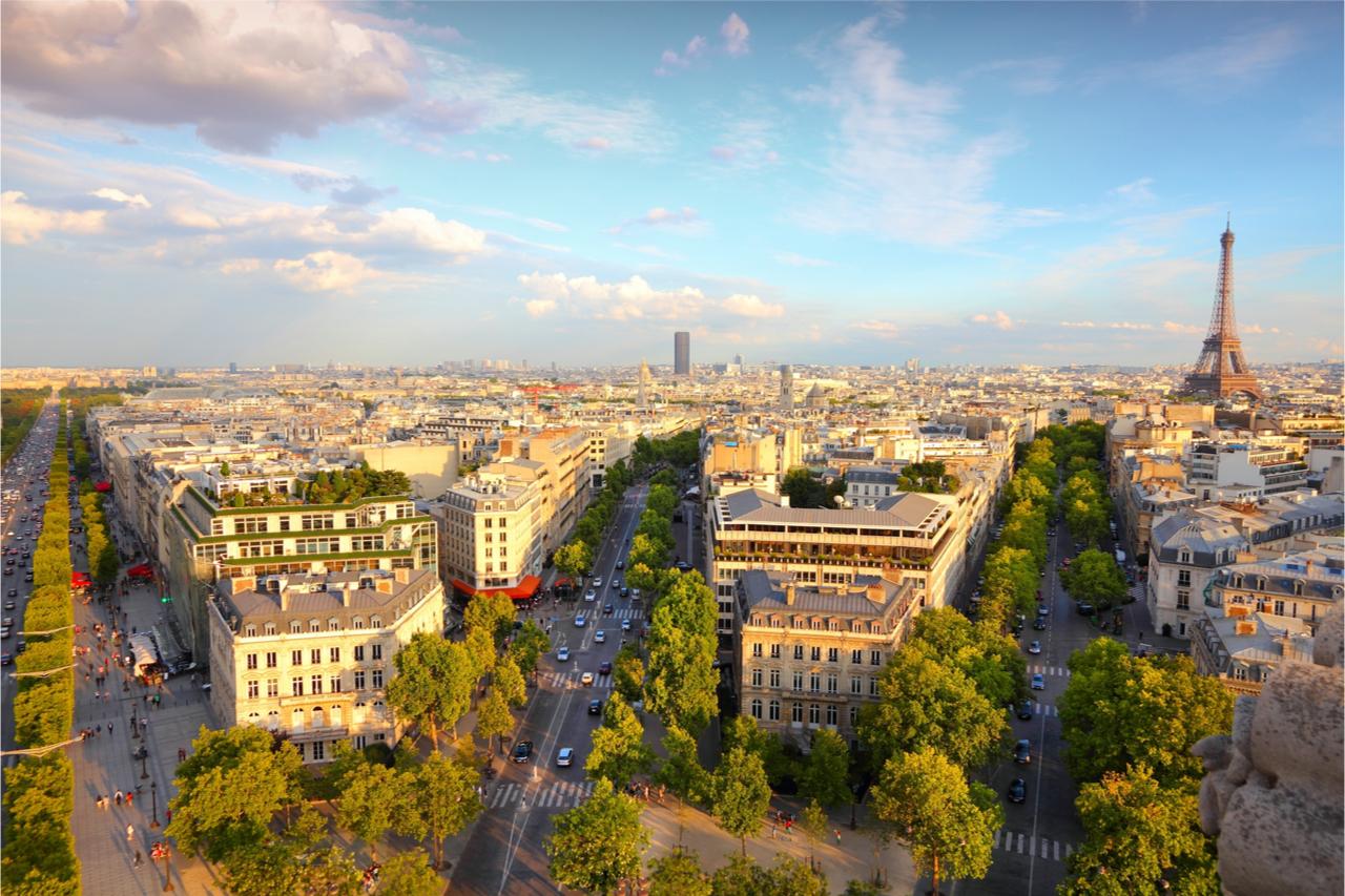 來巴黎一定要去香榭大道!