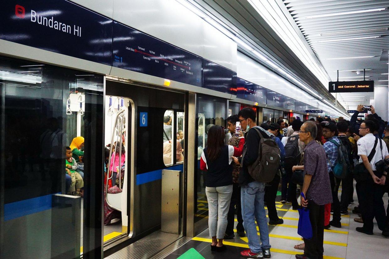 雅加達市區MRT