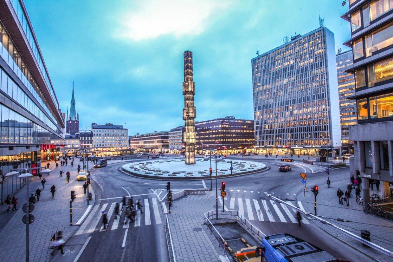 瑞典首都斯德哥爾摩街景