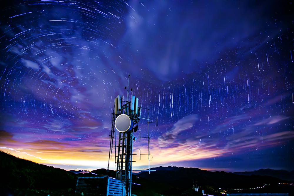 南投雪霸國家公園合歡山上的星空