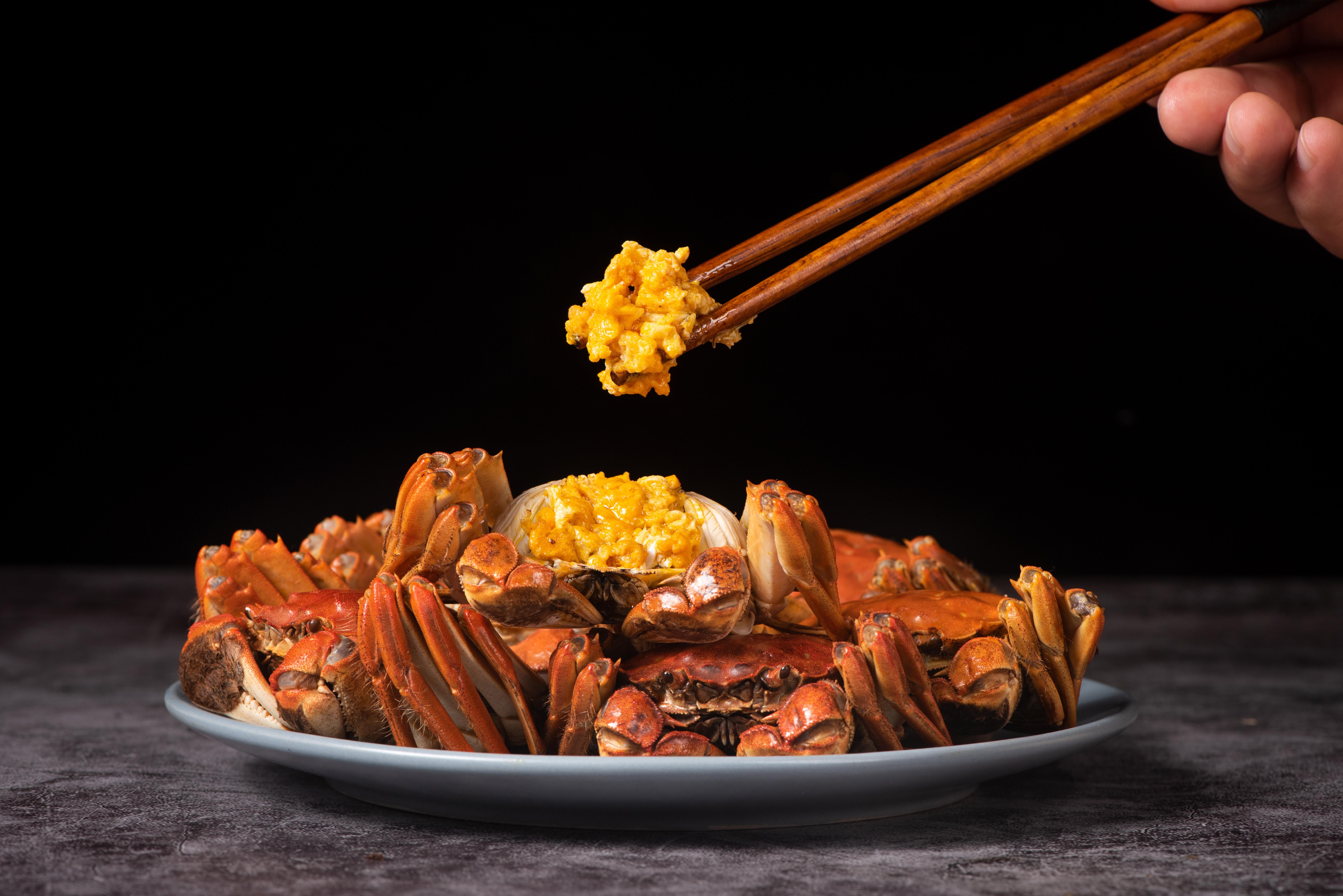 怎麼吃螃蟹