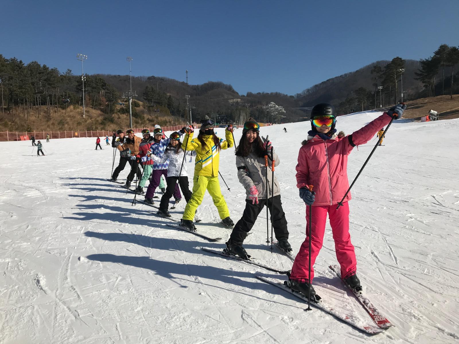 橡樹谷雙板滑雪