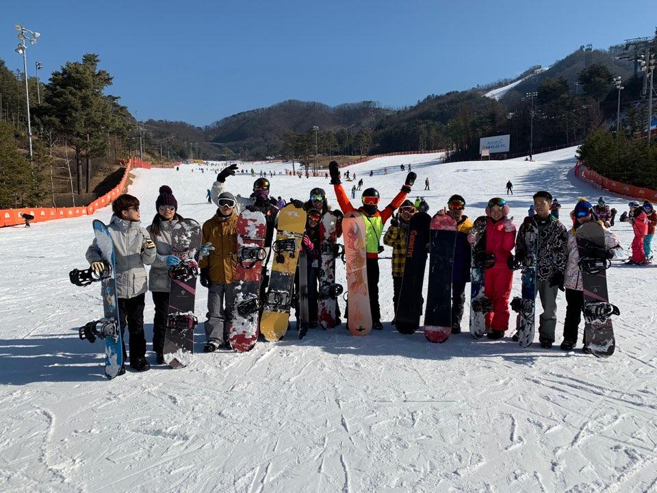 韓國橡樹谷單板滑雪