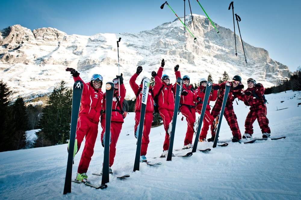 少女峰滑雪體驗