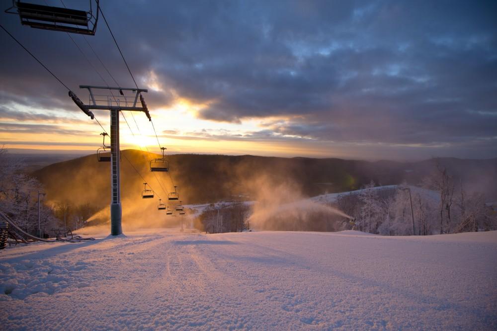 美國賓州白尾滑雪場