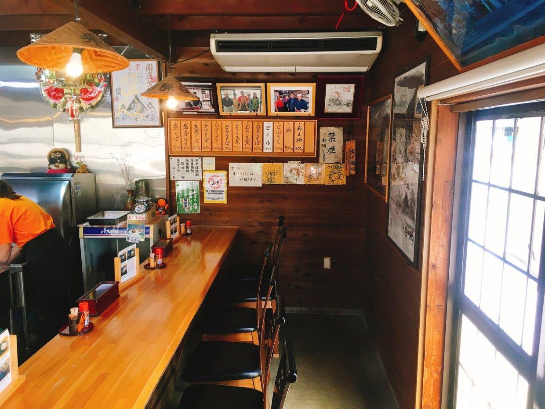 蕎麥麵 乃むら店內景觀