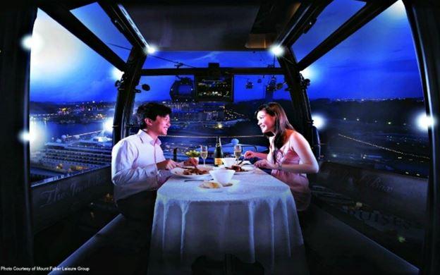 高空纜車浪漫晚餐