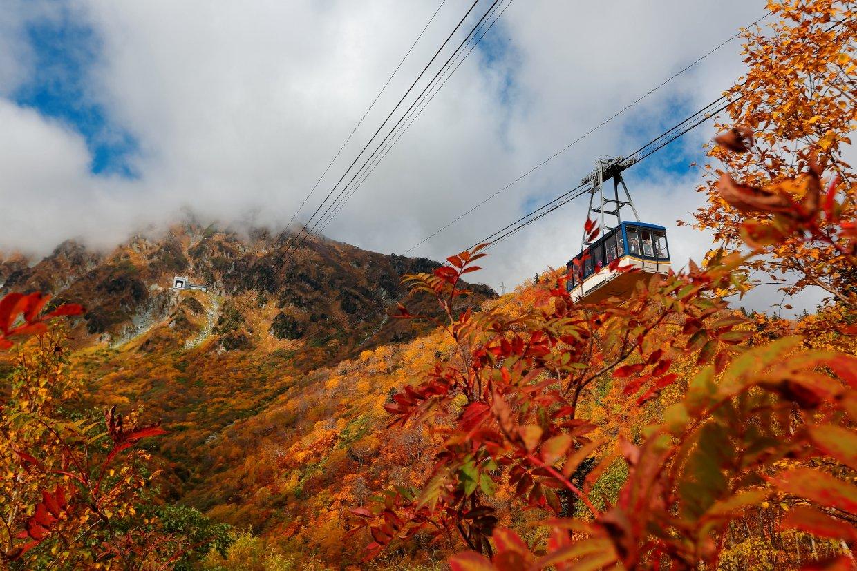立山黑部一年四季都有不同的風貌