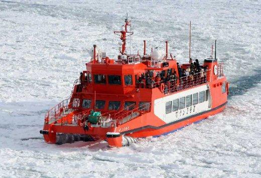 北海道紋別破冰船