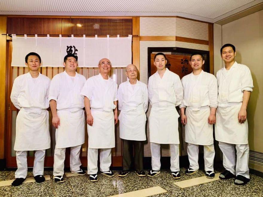 壽司之神坐鎮的數寄屋橋次郎