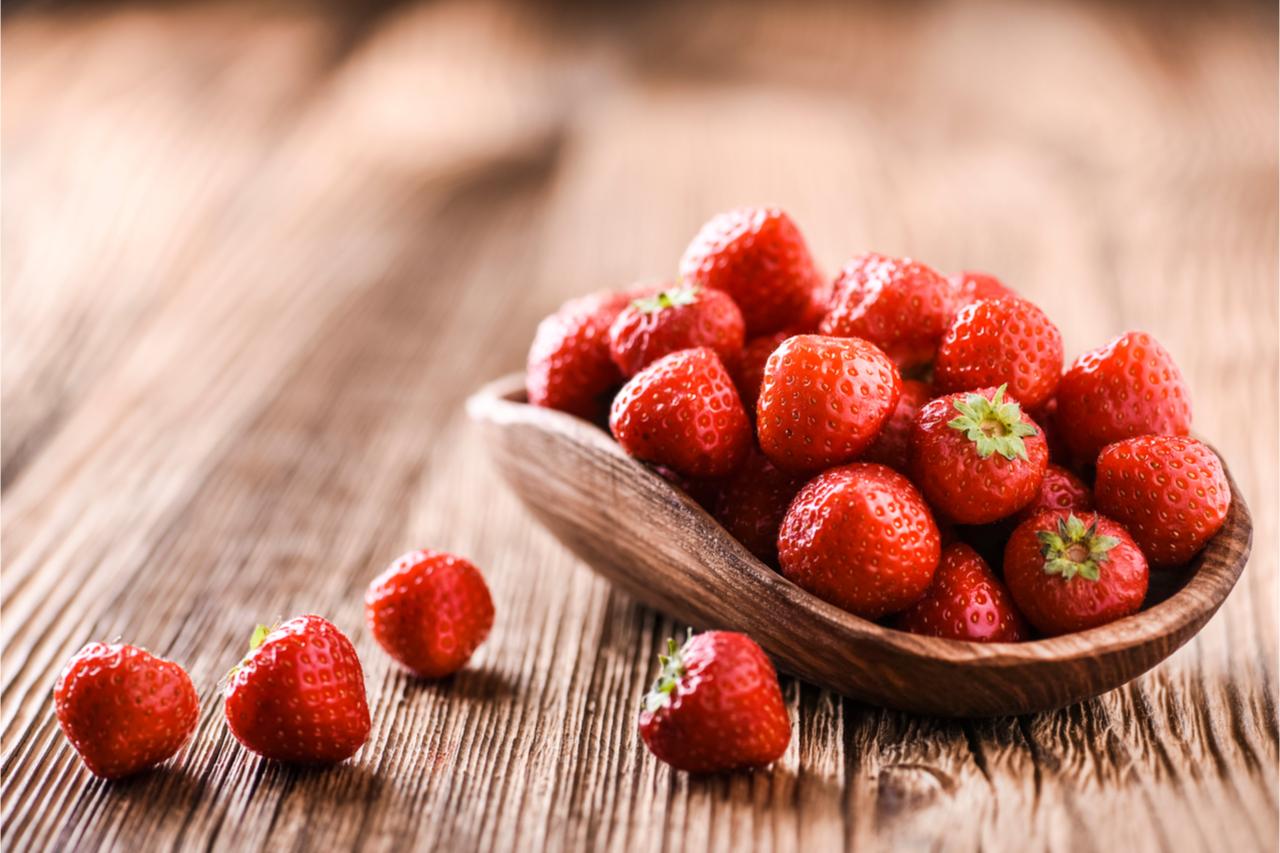 ▲想吃草莓趕快手刀衝~