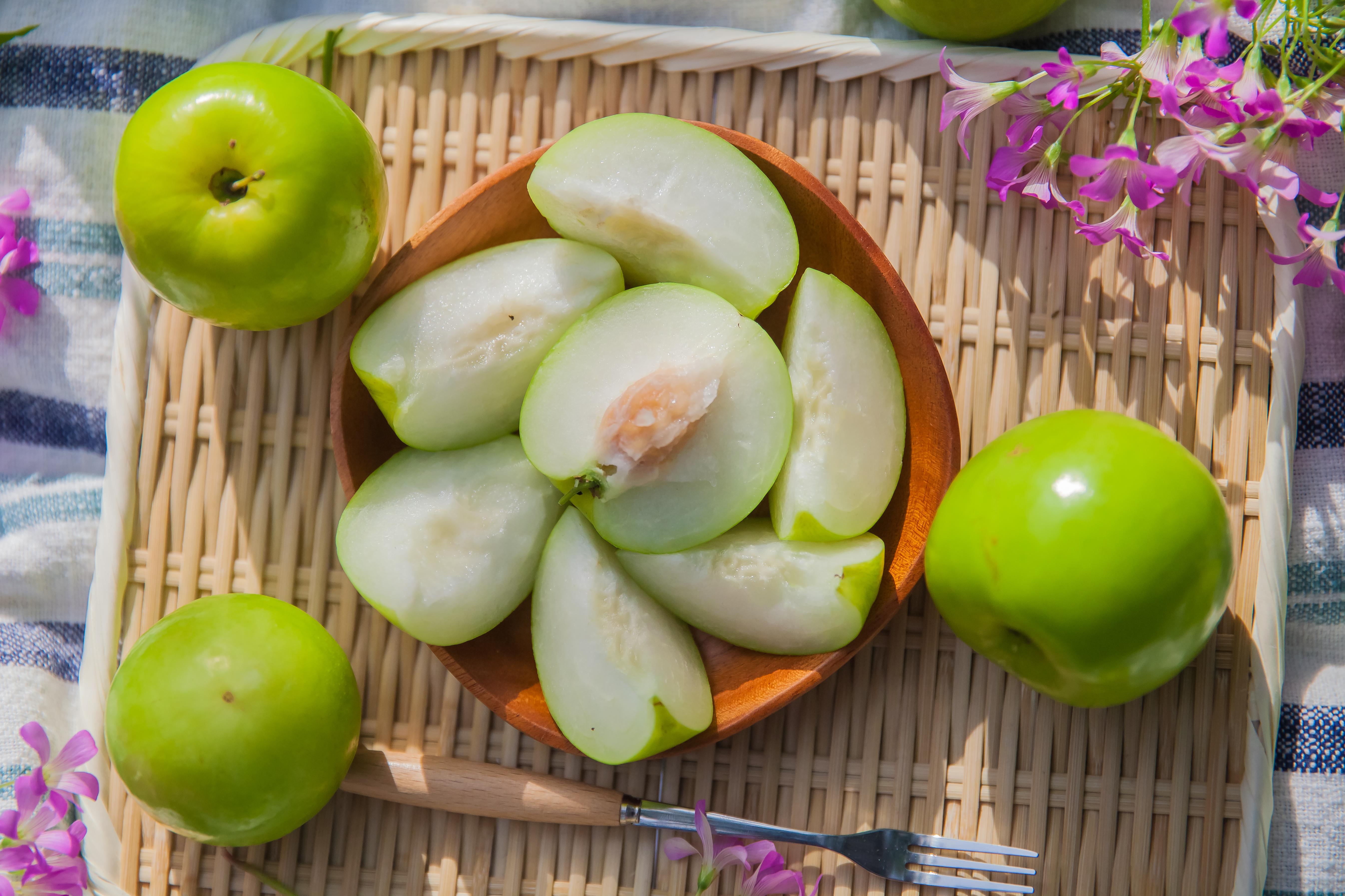 ▲圓胖形狀的雪梨蜜棗,造型相當討喜,許多人喜歡拿來送禮。