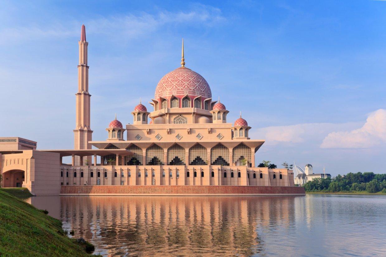 吉隆坡粉紅清真寺