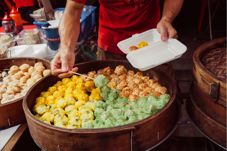 吉隆坡夜市小吃