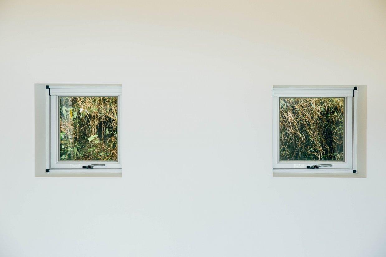 在「九份山居」連嵎裡,這是一個純白的靜謐世界