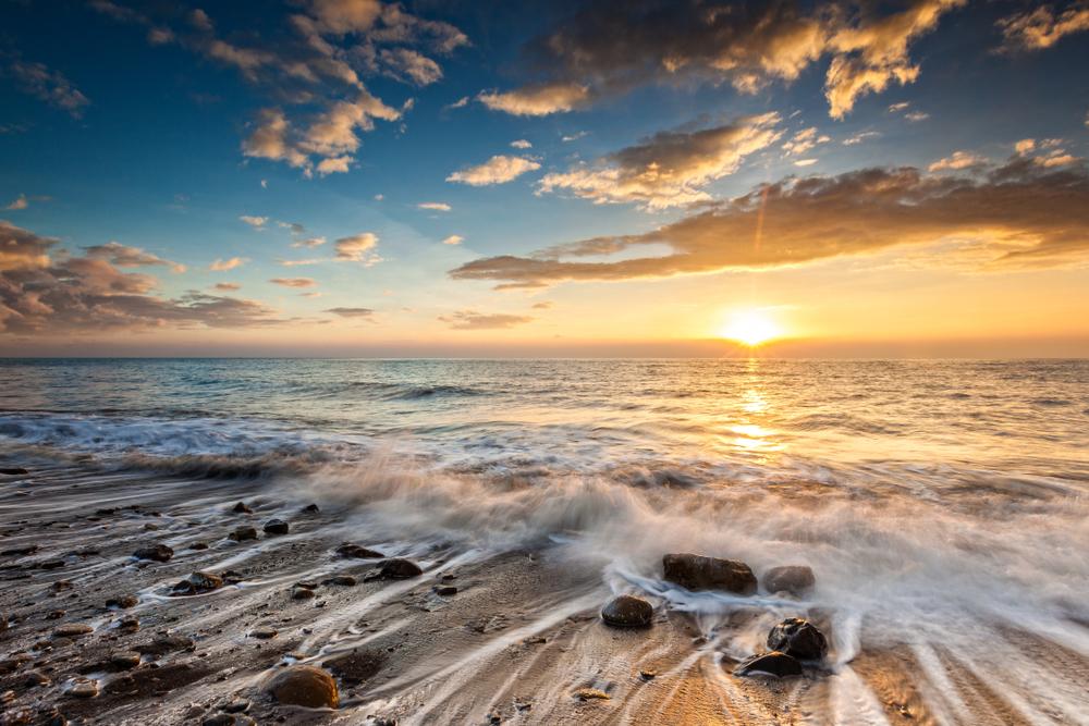 枋山夕陽也是聞名全球的景點
