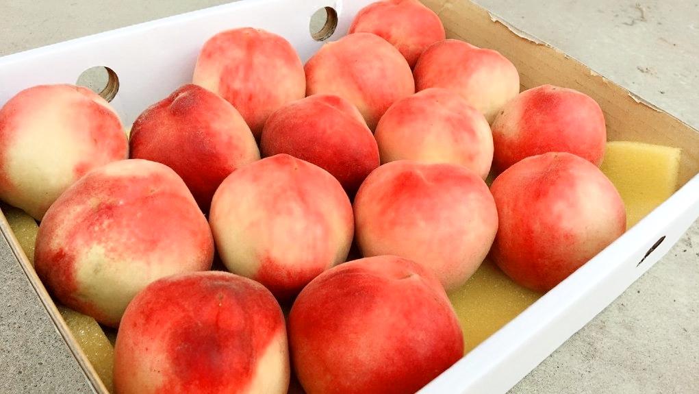 紅玉水蜜桃。