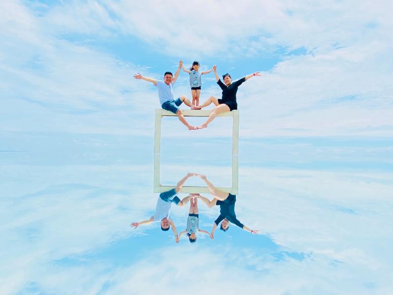 海天一色超殺記憶體!花蓮新秘境「天空之鏡」怎麼拍都超美!