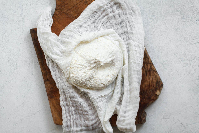 自製羊奶起司瑞可塔Ricotta
