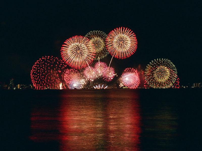 國慶煙火將於台南漁光島施放!欣賞煙火五大熱點快筆記
