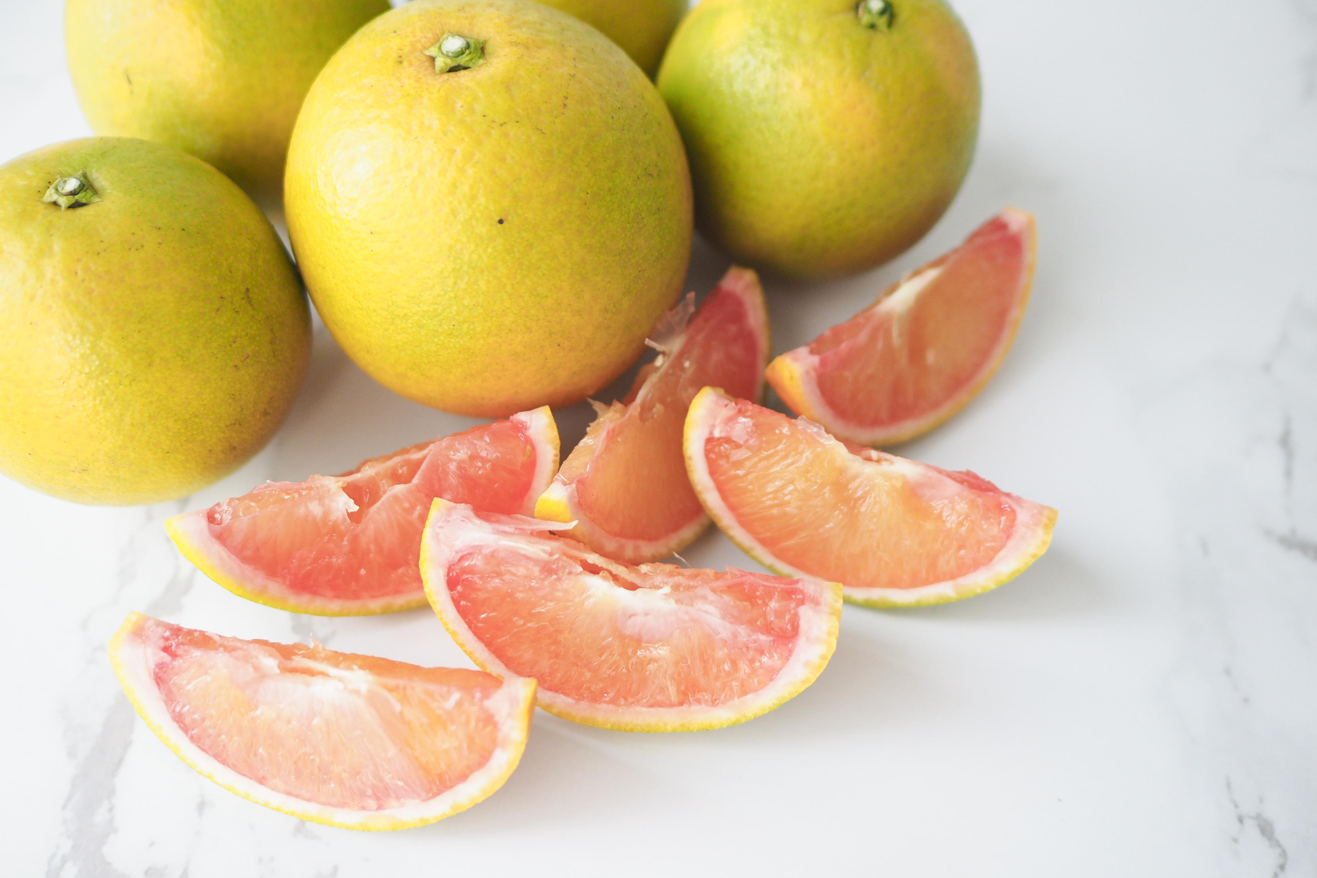 血橙果肉偏紅