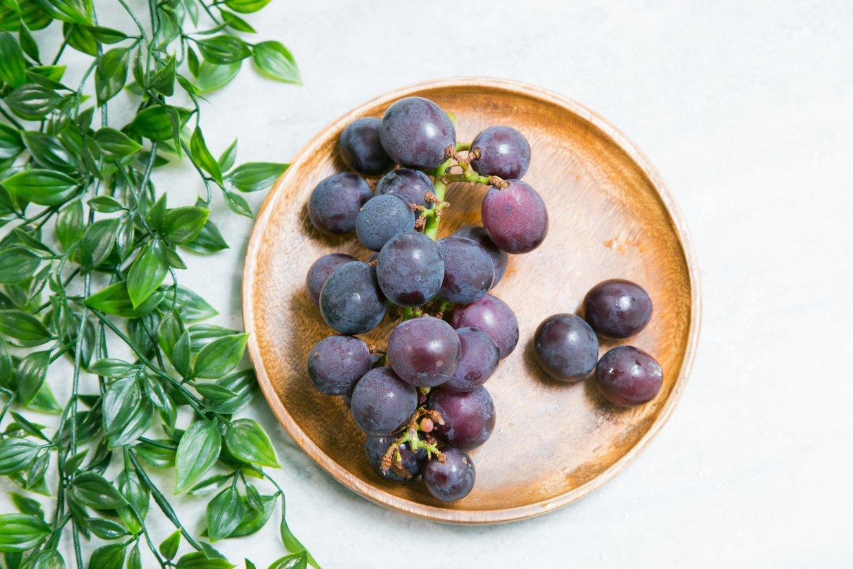 葡萄皮的果粉代表營養