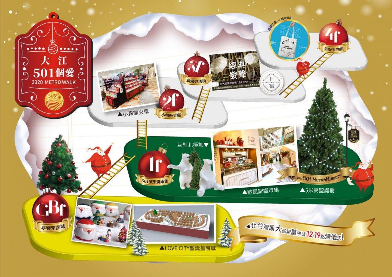 2020全台聖誕市集大搜集 冷冷的冬季就到聖誕市集品嚐美食、挑禮物