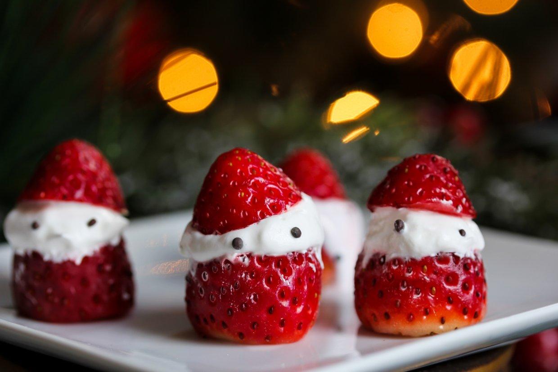 草莓聖誕老人食譜