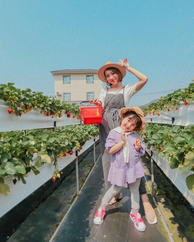 滿意牛奶蜜高架草莓園 @loveso1025