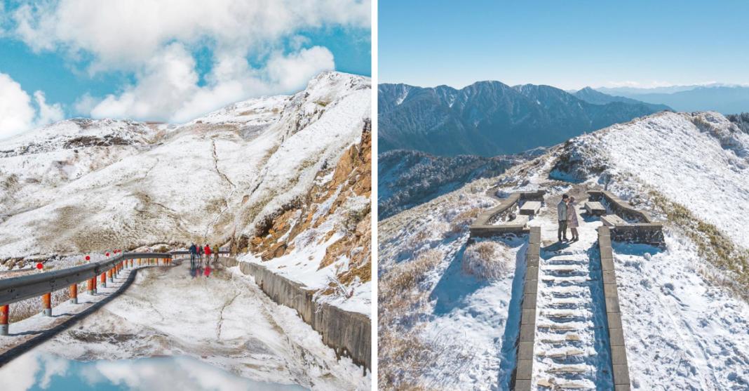 美到像國外!台灣冬季下雪景點在哪裡?台灣賞雪景點報你知