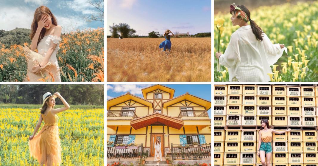 2021最流行旅遊色!8個全台黃色系景點讓你走在時尚尖端!