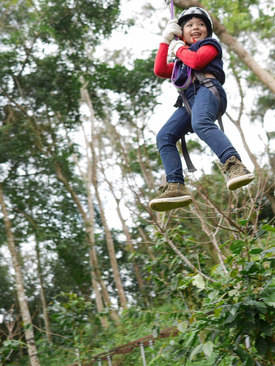 【圖八】花蓮-叢林飛越冒險
