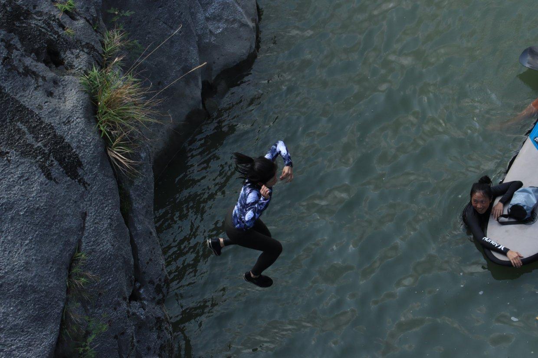 花東小冰島「東河馬武窟溪」SUP體驗 來台東秘境馬武窟溪玩SUP