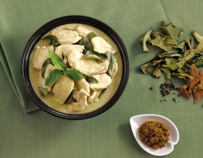 母親節孝親料理推薦-《十八養場》泰式綠咖哩雞