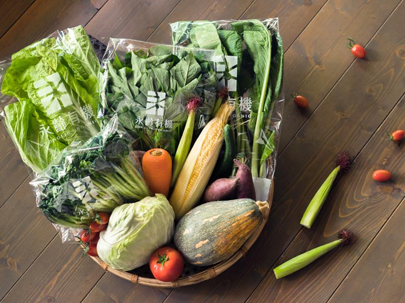 【圖四】《永齡農場》有機生活蔬菜箱