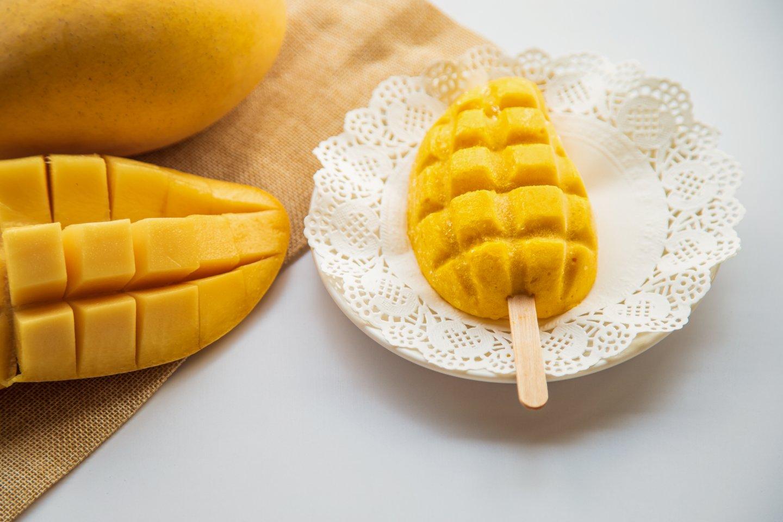 消暑芒果新吃法-芒果冰棒