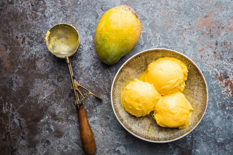 消暑芒果新吃法-新鮮芒果冰淇淋