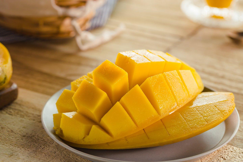 台灣常見的芒果品種-金煌芒果
