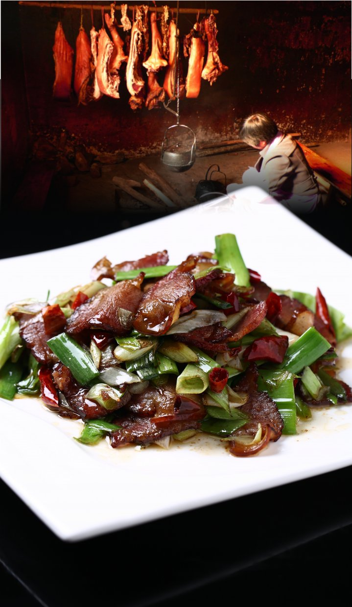 Fried,Chinese,Bacon