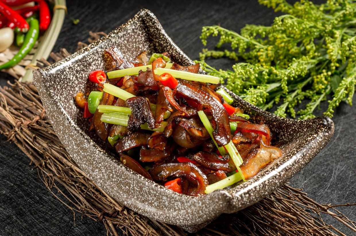 Traditional,Chinese,Cuisine,From,Sichuan,And,Guizhou ,It's,Very,Dilicious