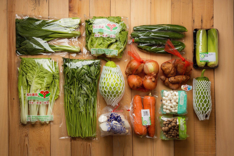 蔬菜箱建議食用順序:葉菜類→瓜果類→菇類→根莖類
